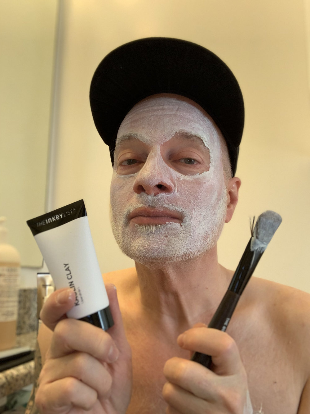 The Inkey List's Kaolin Clay Mask is packed with replenishing seaweed.