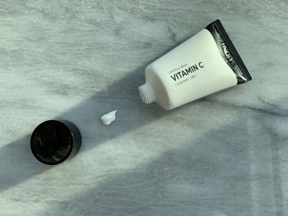 The Inkey List's Vitamin C Serum contains just 4 ingredients.