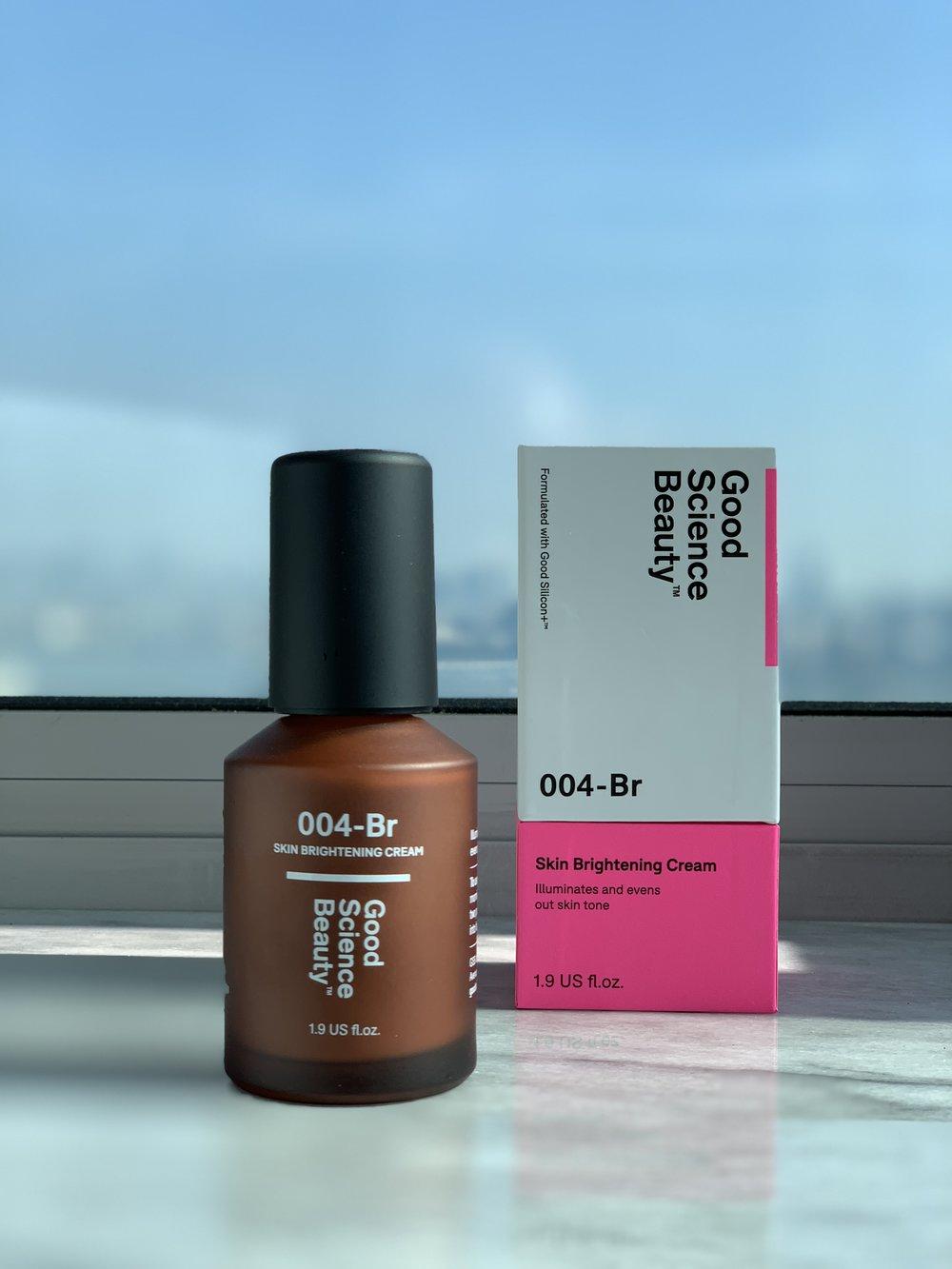 The Good Science Beauty Skin Brightening Cream.