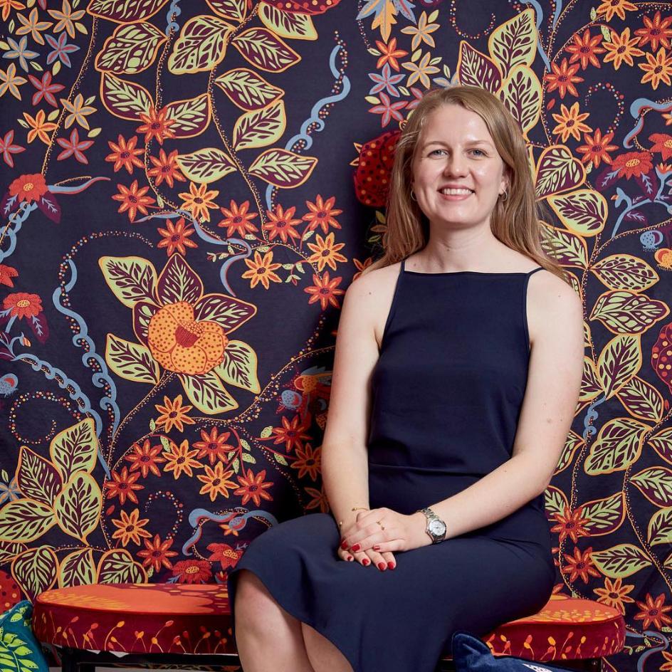 Charlotte Munson, Textile Design Graduate   Loughborough Univeristy New Designers 2018 ©CharlotteMunson2018