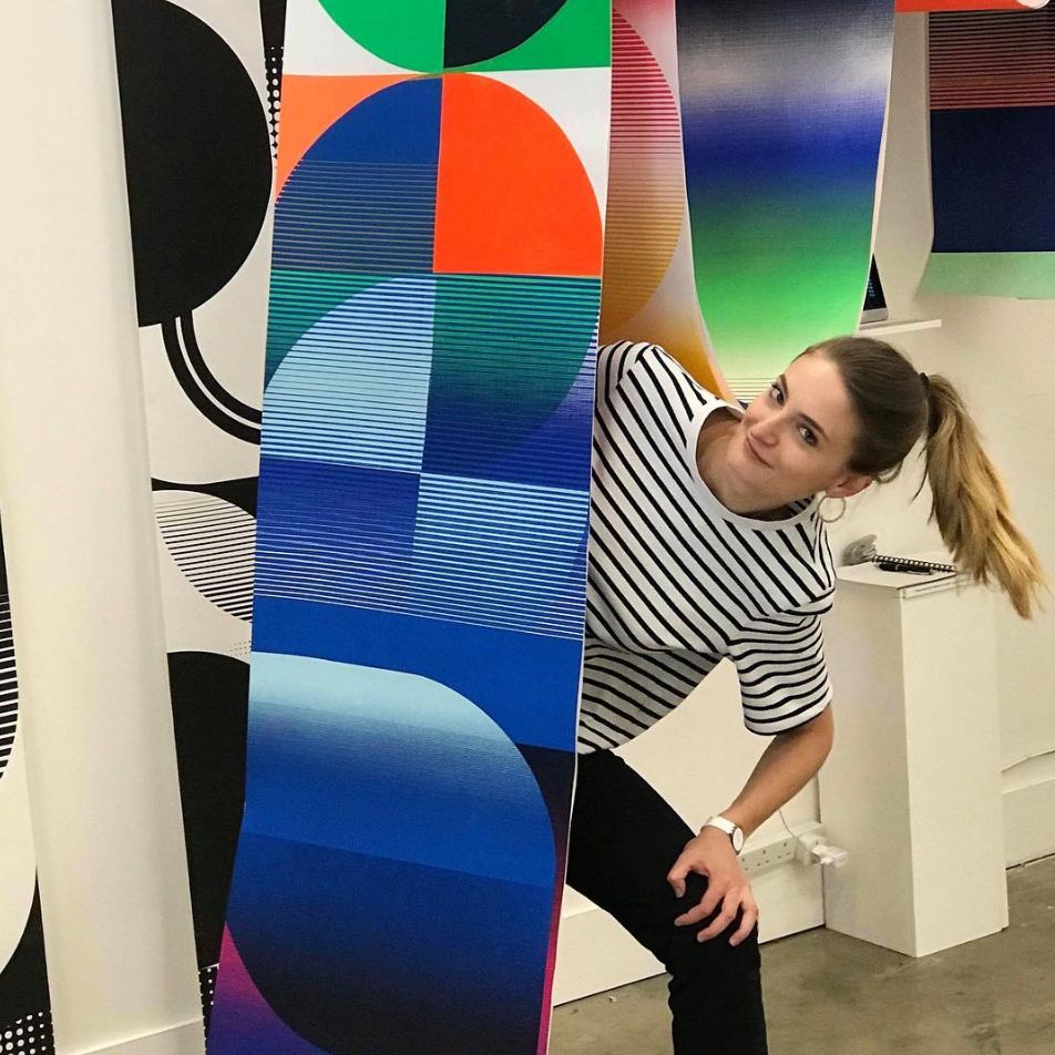 Diane Bresson rocks New Designers, London with her impressive graphic collection
