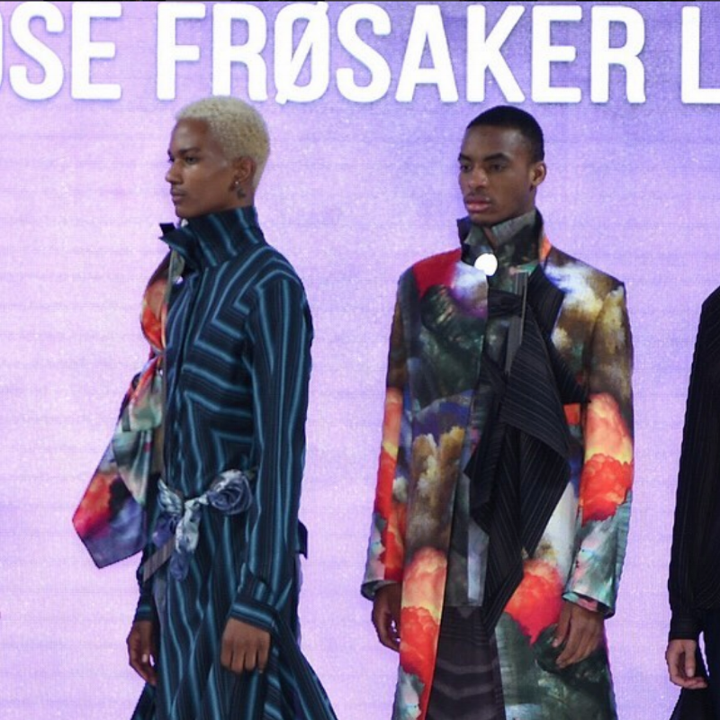 """Voted as part of """"25 of the Best"""" at GFW, Ambrose Frosaker Lunde's Stylish Collection took our breath away   at Graduate Fashion Week..."""