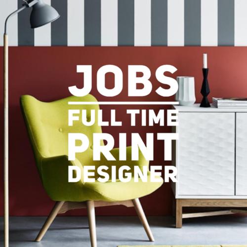 jobs full time print designer sainsbury s home argos texintel