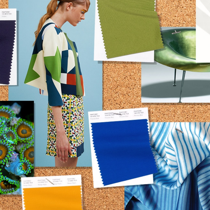 Pantone Releases Ss19 Colour Trend Forecast At New York Fashion Week