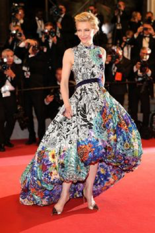 Cate Blanchette wears Mary Katrantzou at the 2018 Cannes Film Festival…