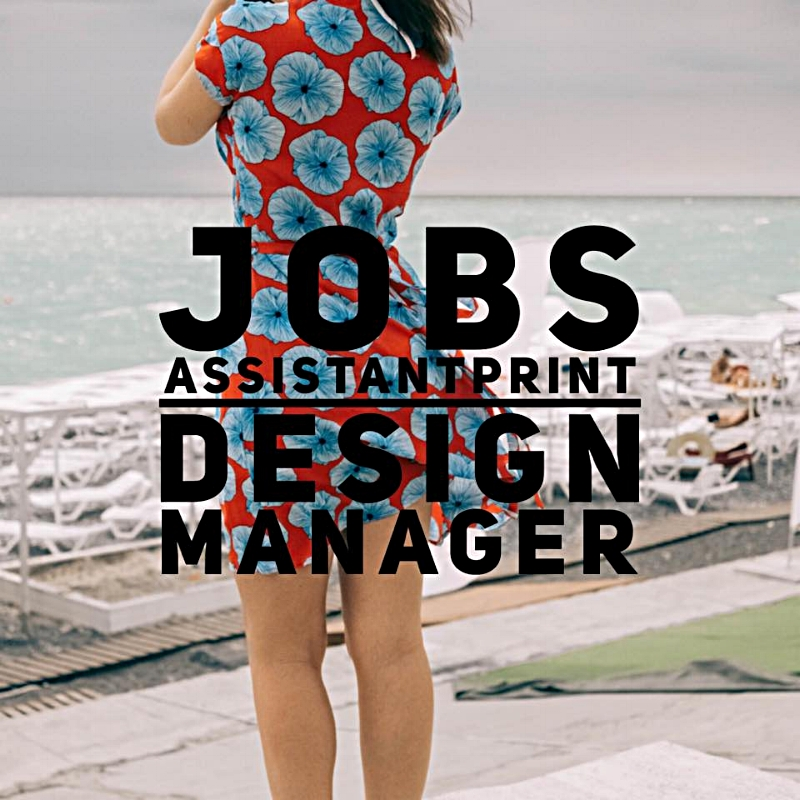 Jobs Assistant Print Design Manager Texintel