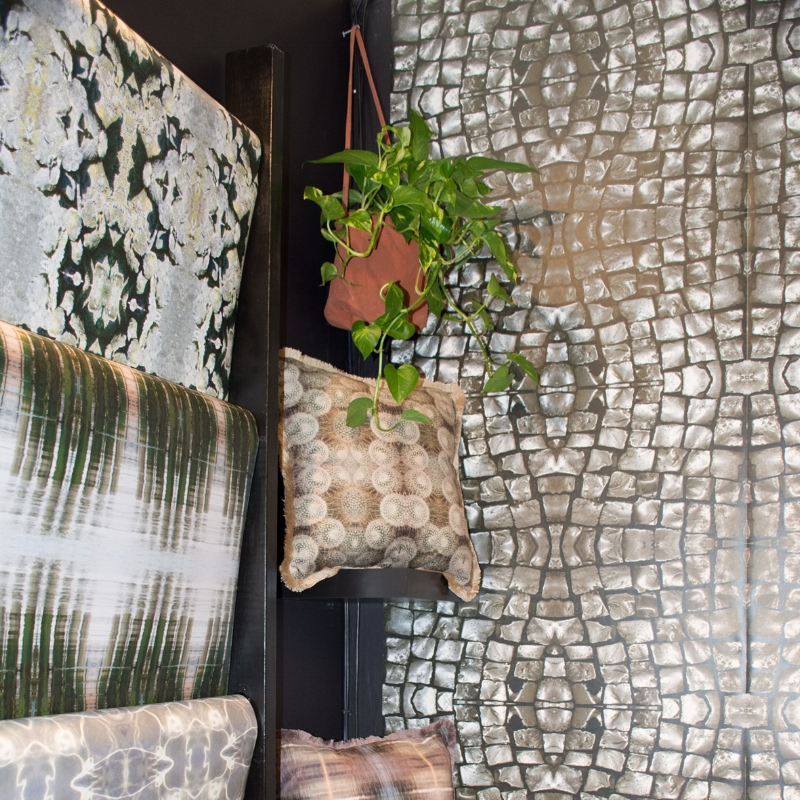 Digital printing enables me to more accurately reproduce the huge range and depth of colour, giving my wallpapers and fabrics an addition dimension and warmth...