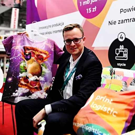 Michal Tracz from Print Logistic