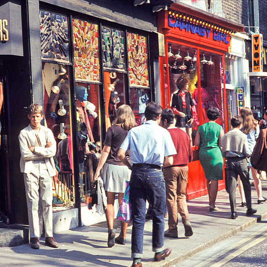 Carnaby Street 1968