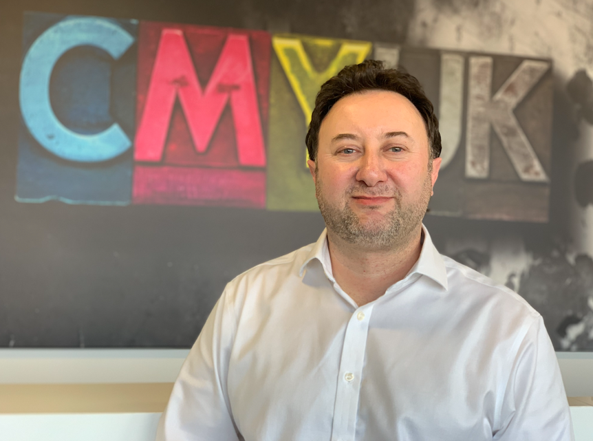 Brett Platt will be working alongside Michael Crook, Head of Consumables at CMYUK, establishing the research and development infrastructure to bring new fabrics to market