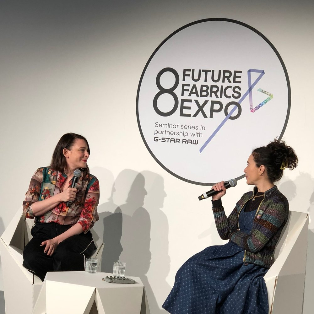 In conversation with Claire BergKamp of Stella McCartney and Orsola de Castro of Fashion Revolution