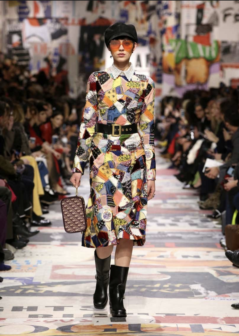Dior's couture was aimed at the smallest section of society, while Quant attempted to democratise fashion and make it available at affordable prices on the UK high street.
