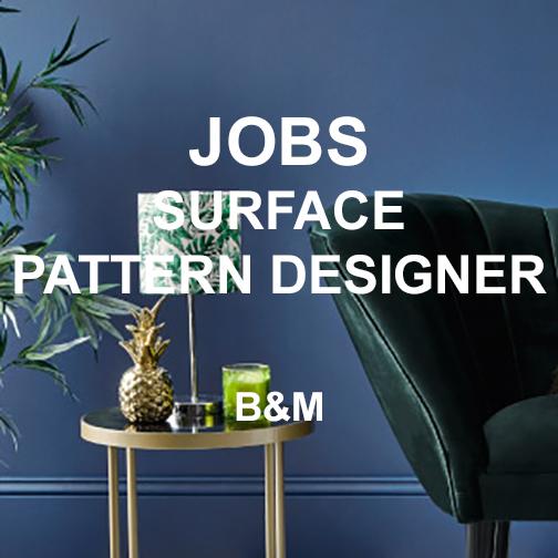 Jobs Surface Pattern Designer B M Texintel