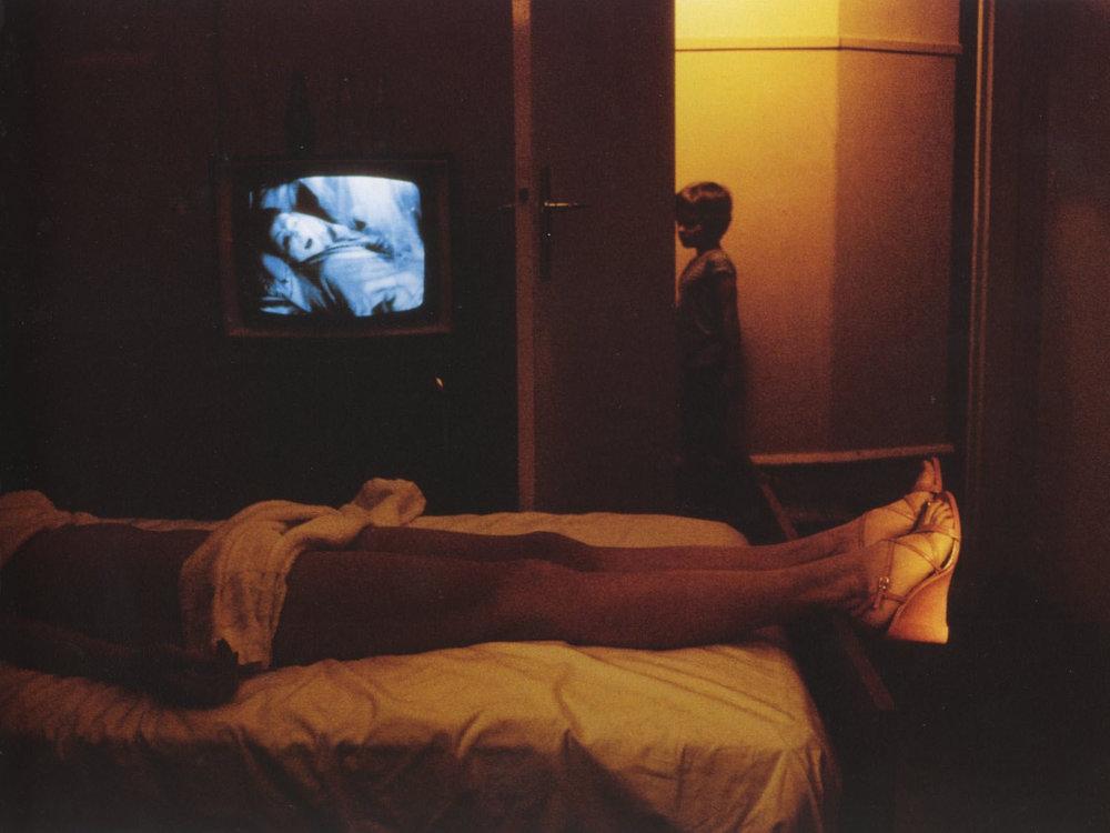 © Guy Bourdin for Charles Jourdan (1975)