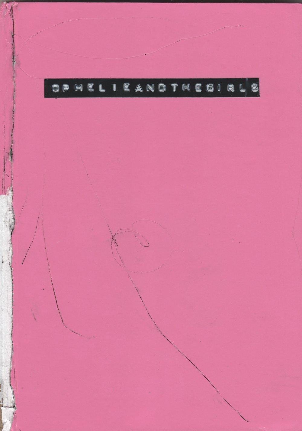 the first #ophelieandthegirls notebook (2015)