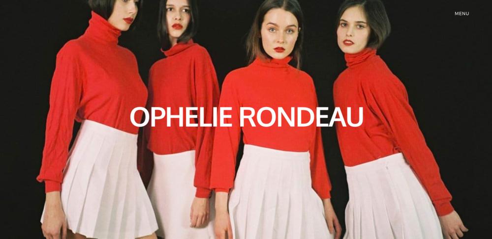 © Ophelie Rondeau — www.ophelieandthegirls.com (2017)