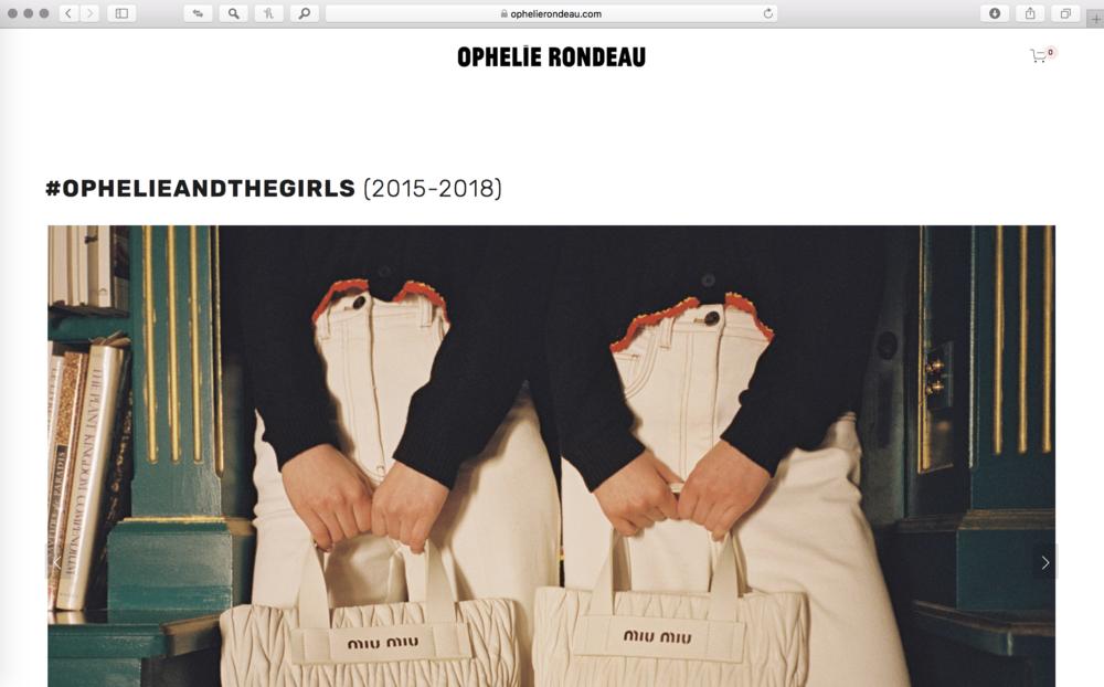 © Ophelie Rondeau — www.ophelierondeau.com (2019)