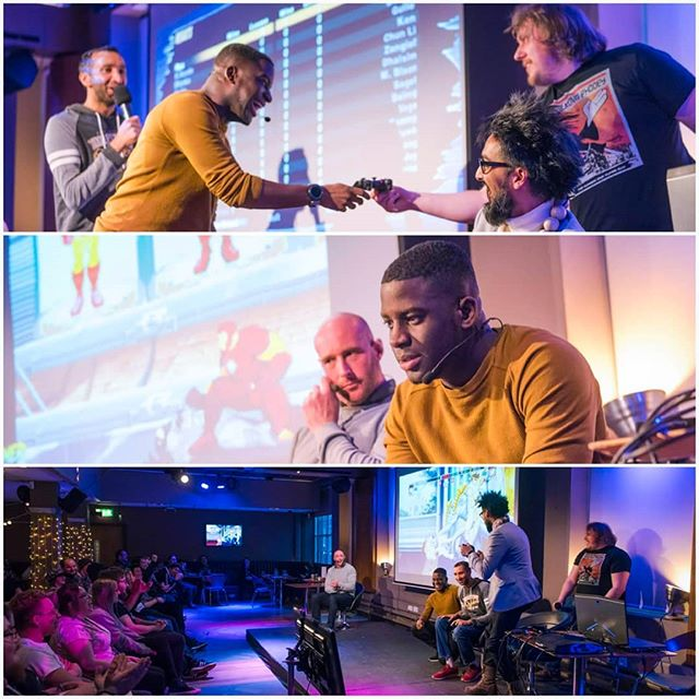 09ce33699 Fun times at @gamergameruk last month in front of the future of game  designers and developers.