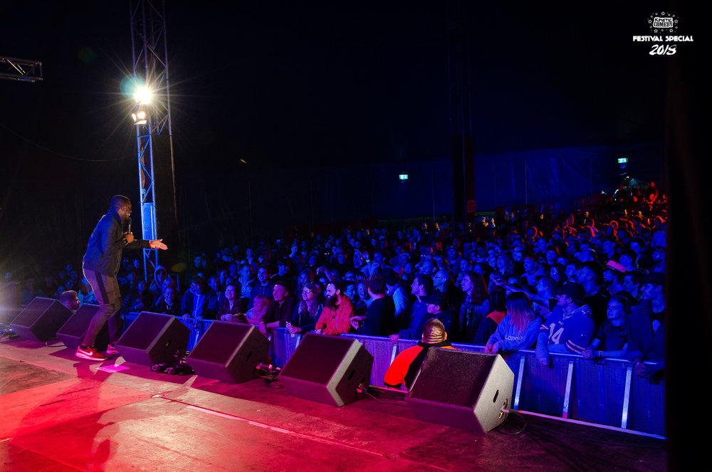 Kinetic Comedy - Leeds Festival