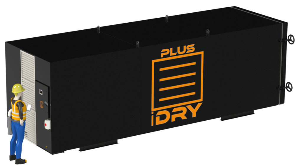 The new larger iDRY PLUS