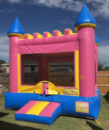 Bounce House #3    -   $115 + tax  13'W x 13'L x 15'H