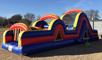 Obstacle Course   -    $250 + tax  10'W x 39'L x 13'H