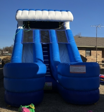 Water Slide -  Can be used wet or dry   -   $275 + tax  12'W x 27'L x 16'H