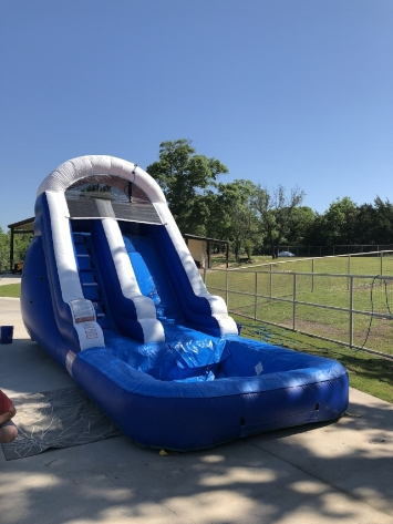 Water Slide with pool  - $225 +tax