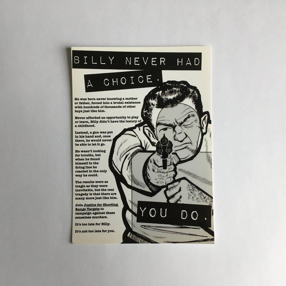 Billy Never Had A Choice