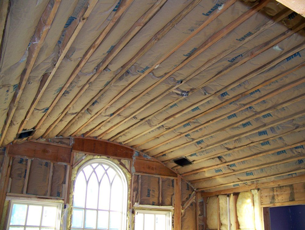 New Home with Barrel Ceilings