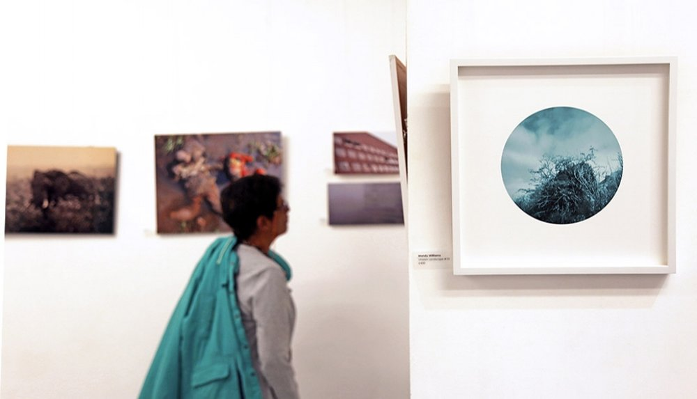 LIP annual exhibition with Unseen Landscape (right)