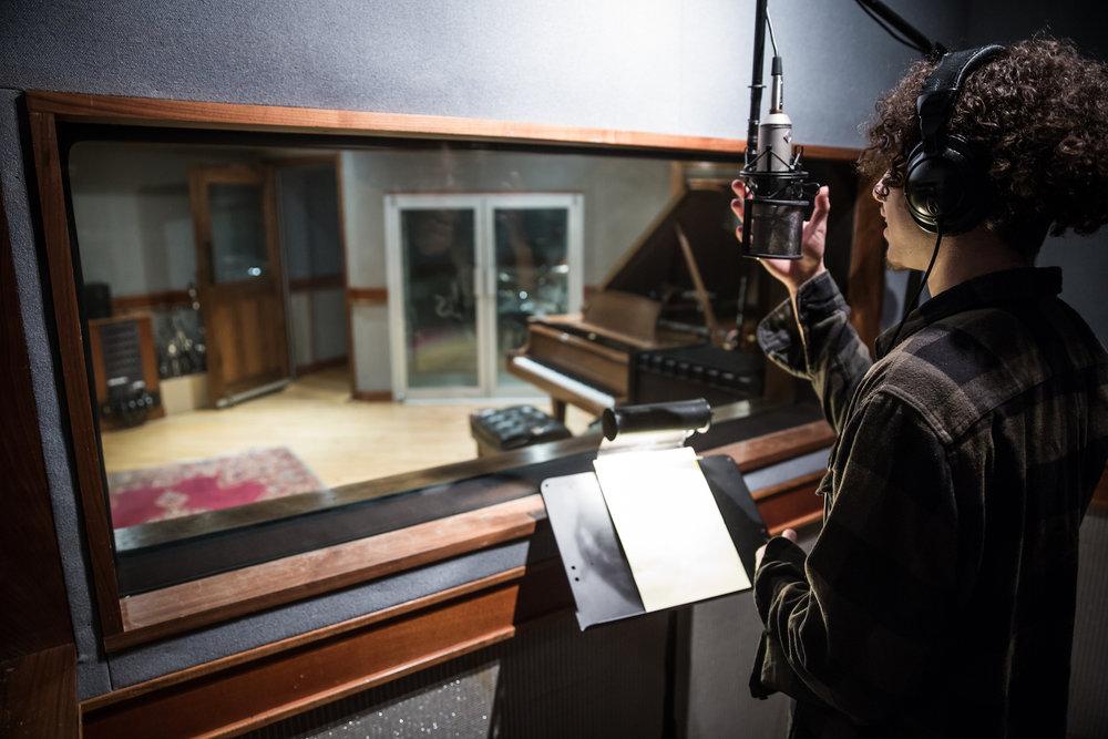 recording -