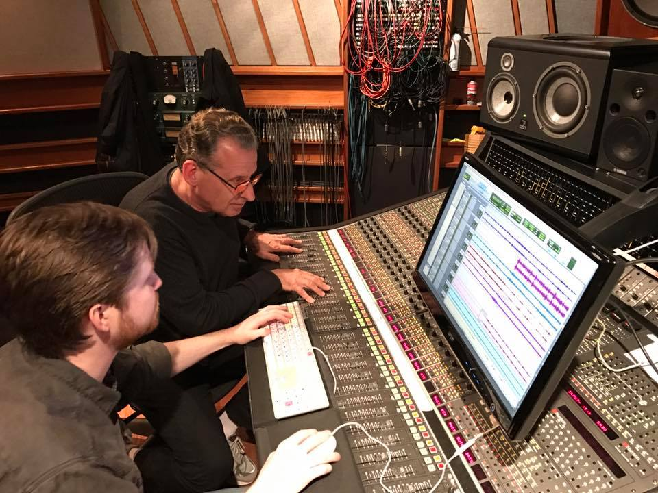 Lou Holtzman, working with Duff Harris on the Harrison SeriesTenB