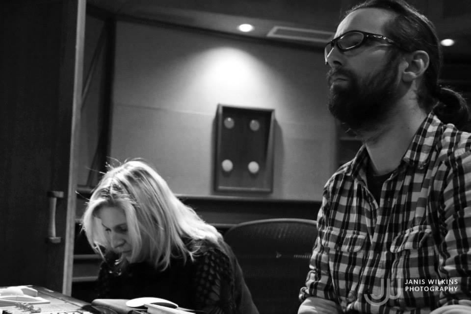 Marc Urselli recording Cecile Jarnot