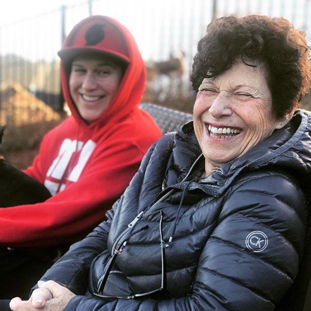 Like mother like daughter! Wonder where I get my smile from🤔#mom #lesbian #salemoregon