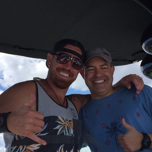 This guy!!! Such a pleasure to get the @letsgotransportation crew and their family out on the boat for some fun in the sun!