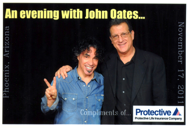 Vinnie Sestito with John Oates