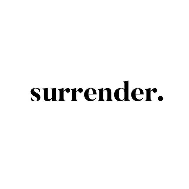 """Surrender. It has such a negative connotation. Like allowing your ship to be overtaken by pirates.  Giving up. Losing. The End. Man Overboard. 🚣♀️ But what if it just meant... accepting the present moment, and letting go of expectations?  Over the past several months, the meaning of the word-- """"surrender"""" has evolved into something so freeing for me. A sort of clarity. Acceptance. Freedom from expectations, the what shoulda woulda coulda beens.  Surrendering can be powerful. It's not an overnight sort of thing-- but rather a new way of processing.  I am learning to surrender that... I don't like confrontation in my personal life, or... shopping malls, getting my nails done, or sitting still. I prefer MONK reruns to Hallmark and Hallmark to political conversations. That I only enjoy sports when I am with sports fans... But my basketball days are in da past. That me at 32-- is not me at 25. I've got curves I've never had. Stress I've never had. My body, my heart, and every fiber of my being has been through a lot in the past 7 years. I am learning to appreciate that. Accept it.  I surrender to the fact that I am not like everyone else in my lifestyle choices. Dude. No one wakes up and is like... I WANNA be the weirdo that makes everyone else feel uncomfortable for eating their eggs and bacon at brunch just by being present-- said no one EVER.  But most of all, the best Christmas gift I have allowed myself to indulge in this year, is that """"belonging"""" shouldn't be so hard. I guess you could say that I am a child of divorce, and being divorced myself... and taking on, and then giving up... family and friends... it leaves a sort of... """"hole."""" Or, it did for me. A hole I was trying to replace by wanting to be included into friend/family-- framilies. I think people who have grown up that way, don't realize what a treasure it is... To have this group of people to argue in the kitchen with. But finally... finally, it sank in that that desire to be loved, and a part of a """"fami"""