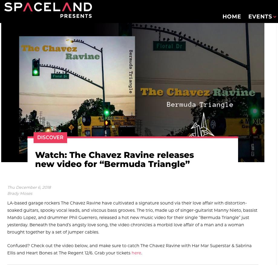 SPACELAND PRESENTS - BERMUDA TRIANGLE