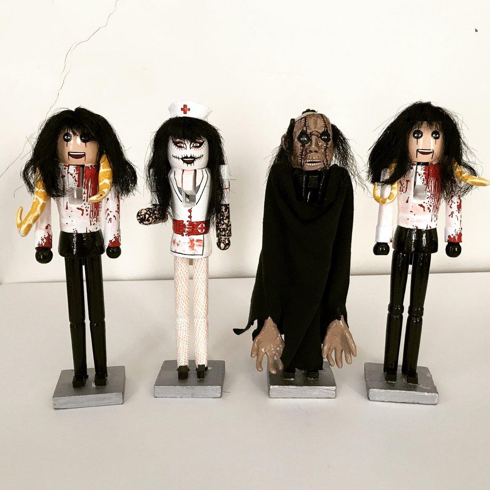 Alice Cooper, Sheryl Cooper, and Frankenstein