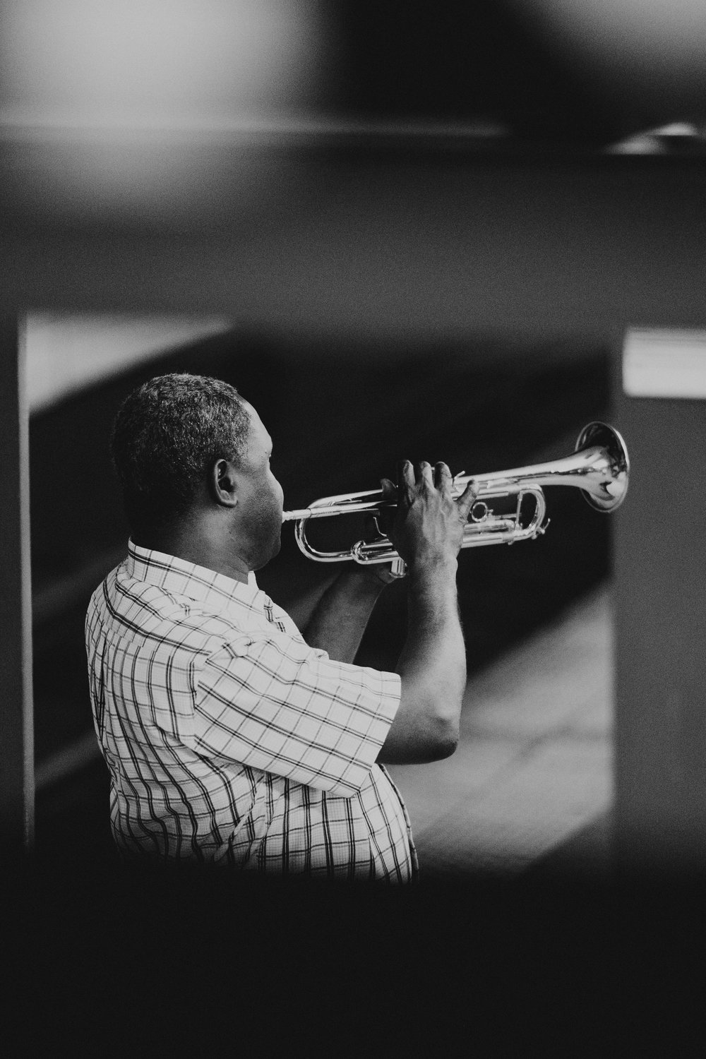 When the trumpet sounds... - Photo by Ryan Loughlin