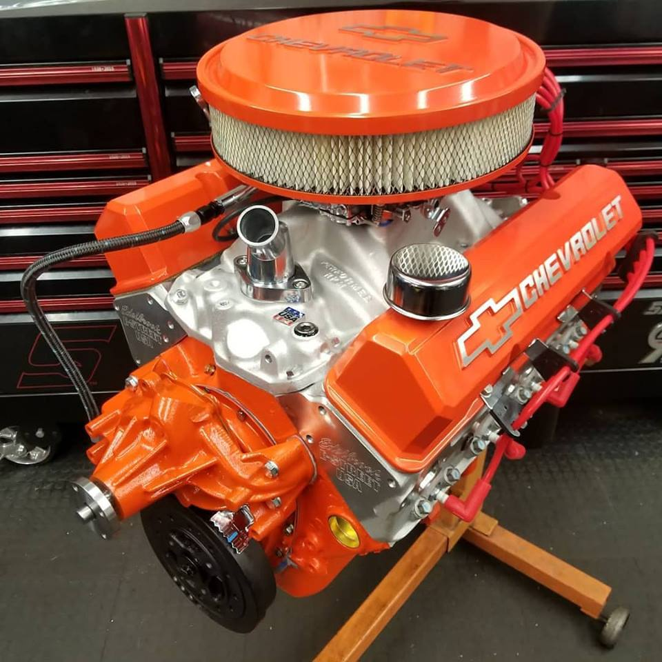 Chevy 434 Stroker Small Block Wolverine Engines