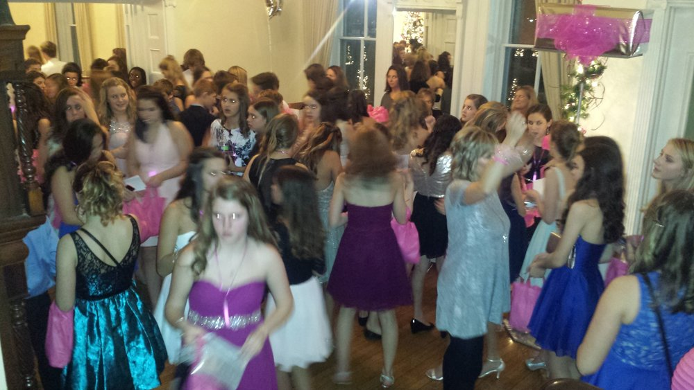 Pink Christmas Dance - Wilder Mansion, December 12, 2015How much money raised? More about the event. What inspired the event, Sponsors of the event, etc.