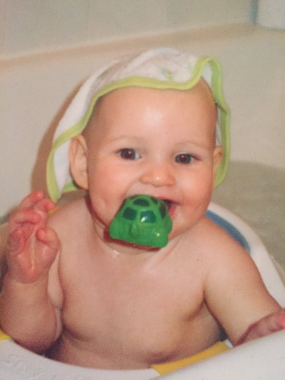 Annie as baby.jpg.JPG