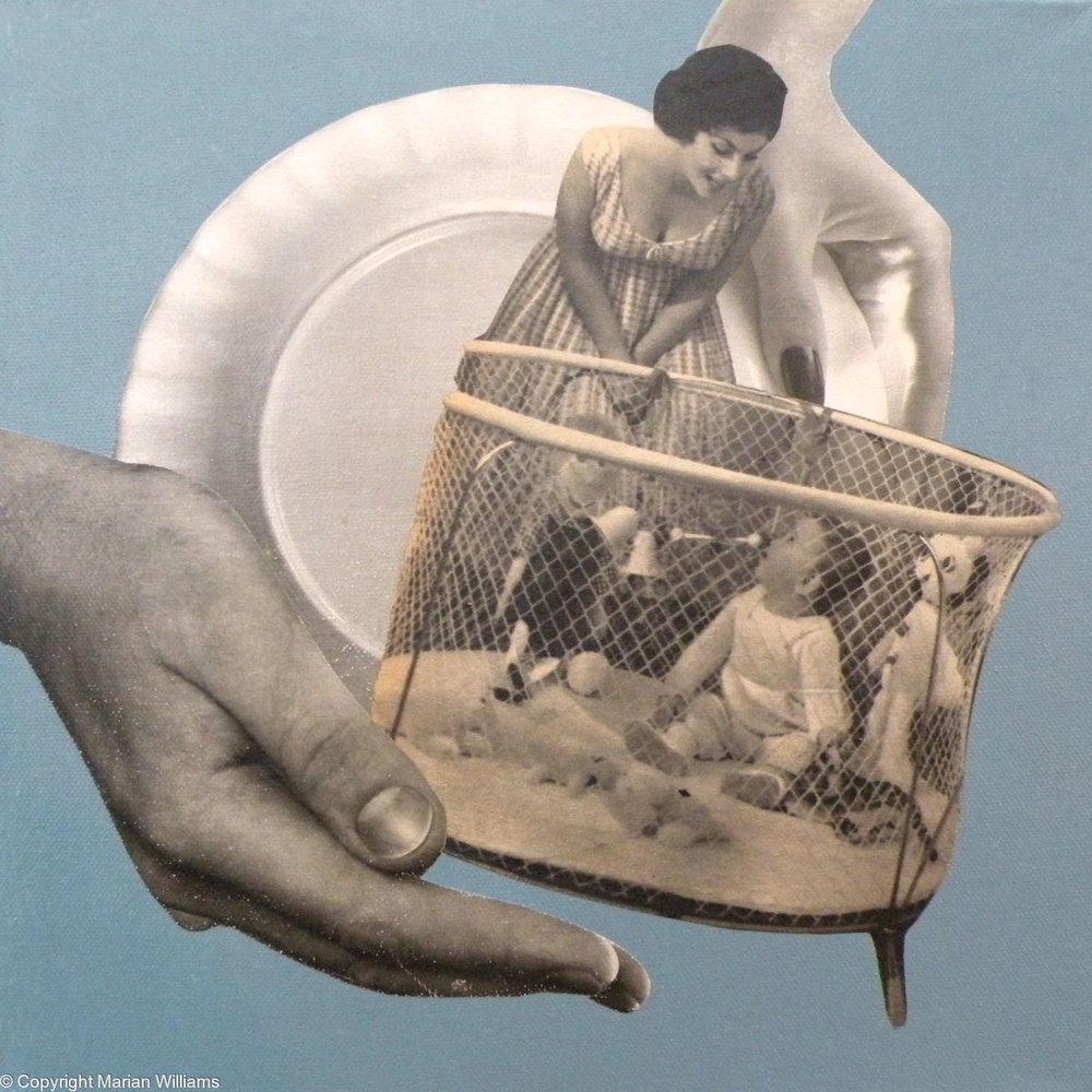 """In Good Hands"""" by   Marian Williams"""