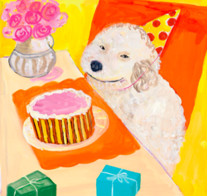Dog Recipe Birthday Cake Grain Free