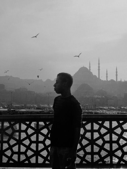 James Baldwin in Istanbul, 1965