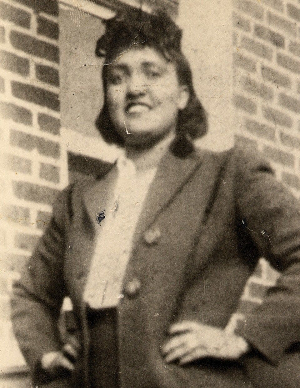 Henrietta Lacks in a 1940s photo. (Lacks family/Henrietta Lacks Foundation/AP)