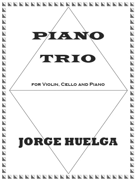 """My Piano Trio"" (July 2016) / FRONT COVER"