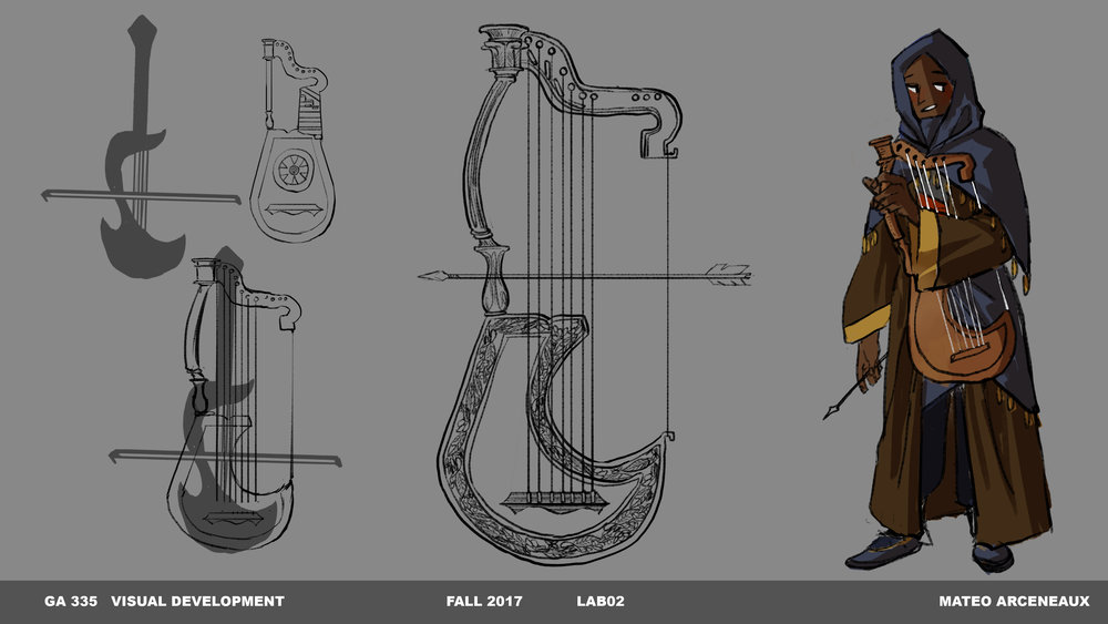 Process work for prop design concepts